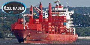 Konteyner gemisinde 286 kilo kokain yakalandı