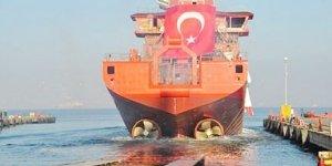 Cemre Tersanesi yeni gemisini denize indirildi