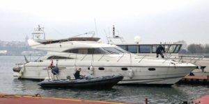 1 milyon Euro'luk çalıntı yatla hırsızlık