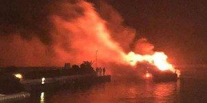 Alaçatı'daki yangında zarar 3 milyon lira