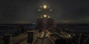 USS Carney Karadeniz'de devriye görevinde