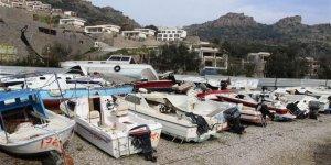 12 milyon TL'lik tekneler çürümeye terk edildi