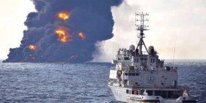 Doğu Çin Denizi petrole bulandı