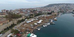 Sinop yeni çekek yerine kavuşuyor