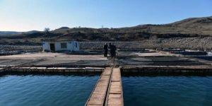 Tuncelililer kafes balıkçılığında iddialı