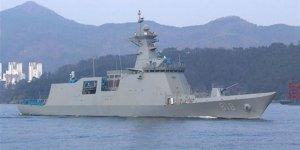 ROKS Daegu fırkateyni Deniz Kuvvetlerine teslim edildi