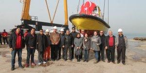 '15 Temmuz Sağlık ve Hürdoğan' denize indirildi