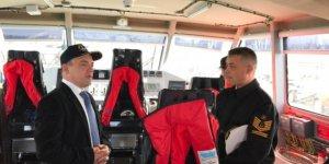 Burhaniye'de Sahil Güvenlik hizmete girdi