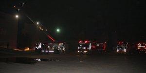 CNR Expo Fuar Merkezi'nde yangın çıktı