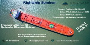Alpha Marine'den Rightship semineri