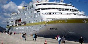 2017'de 307 kruvaziyer gemisi geldi