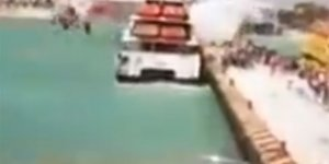 Feribotta patlama oldu: 25 yaralı