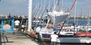 Tarihi Kalamış Yelken Kulübü'ne 'Tahliye' tebligatı
