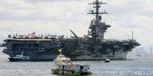 USS Carl Vinson Vietnam'a gidiyor