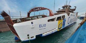 Akdeniz'in ilk LNG ile çalışan feribotu Sefine'den