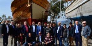 DTO Başkanı Kalkavan denizcilerin sorunlarını dinledi