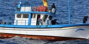 Balıkçı teknesine uyuşturucu operasyonu