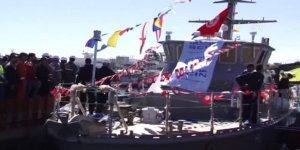 Tunus ikinci milli gemisini suya indirdi