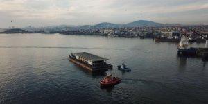 Karaköy İskelesi Tuzla'dan yola çıktı