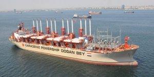 Doğan Bey enerji gemisi Afrika'yı aydınlatacak