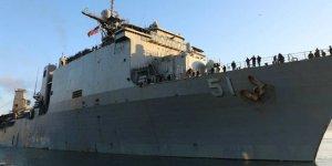 ABD savaş gemisi Batum Limanı'nda