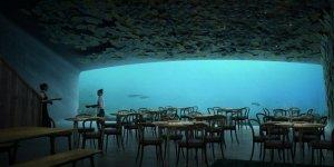 Avrupa'nın ilk sualtı restoranı seneye açılıyor