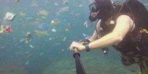 Tatil cenneti Bali çöp adası oldu