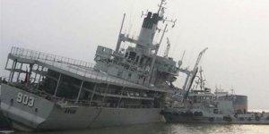KRI Arun adlı ikmal gemisi hizmet dışı bırakıldı