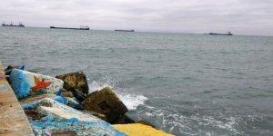 11 şilep ve tanker, Tekirdağ sahiline demirledi