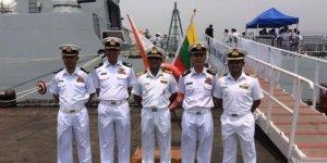 Hindistan ve Myanmar'dan ortak deniz tatbikatı