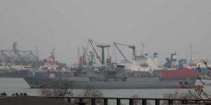 Donanma gemileri Samsun Limanı'nda