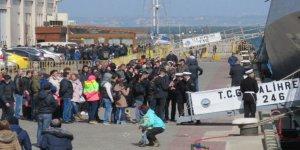Türk donanmasına Karadeniz'de yoğun ilgi