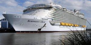 Dünyanın en büyüğü Symphony of the Seas sefere hazır