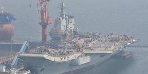 Çin'in yerli uçak gemisi deniz testlerine hazırlanıyor