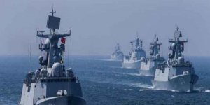Çin Donanması'ndan ABD'ye karşı gövde gösterisi