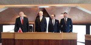 Salih Zeki Çakır DTO'nun Meclis başkanı oldu