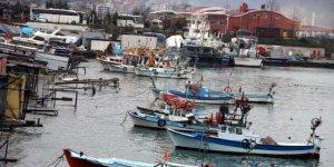 Balıkçılar denize buruk veda etti