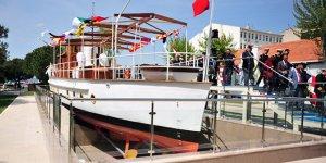 Atatürk'ün teknesi, 'MG Acar' müze olarak ziyarete açıldı