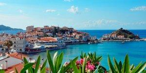 Teos Marina'dan Samos'a ilk sefer yapıldı