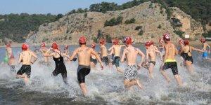 3. Uluslararası Dalyan Açık Su Yüzme Yarışması Yapıldı