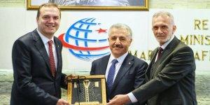 DTO Yönetimi, Ahmet Arslan'ı ziyaret etti