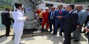 Denizde emniyet eğitimleri tesisi açıldı