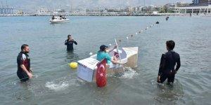 İskenderun'da denizde İSTE rüzgarı esti