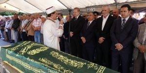 Salih Zeki Çakır'ın babası ebediyete uğurlandı
