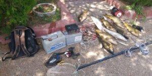 Elektroşokla balık avına 10 bin 644 lira ceza