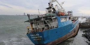 Hayalet gemi Tallas'ın sökümü başlıyor