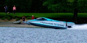 Jaguar'dan kırılması güç dünya rekoru