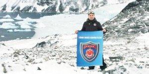Antartika'da ilk Türk askeri