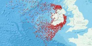 İrlanda batık haritasını yayınladı