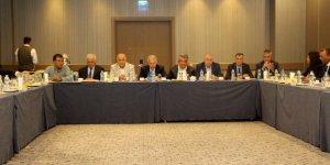 Mersin'de Oda Başkanları kentin sorunlarını tartıştı
